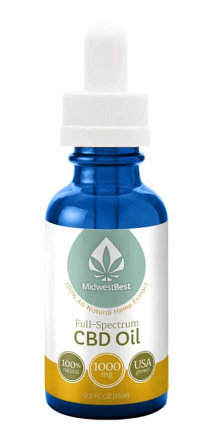 Full Spectrum CBD Oil 1000 mg/30ml