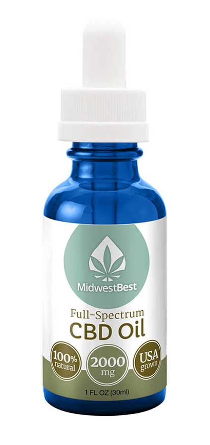 Full Spectrum CBD Oil 2000 mg/30ml