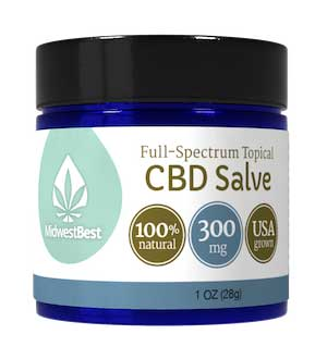 Full Spectrum CBD Salve 300 mg
