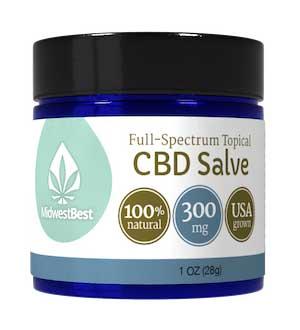 Full Spectrum CBD Salve 300 mg