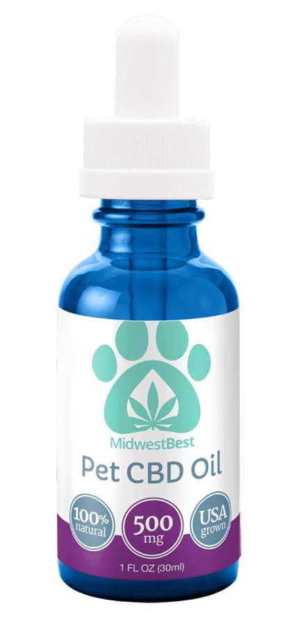 500 mg Full Spectrum Pet Oil – 30 ml