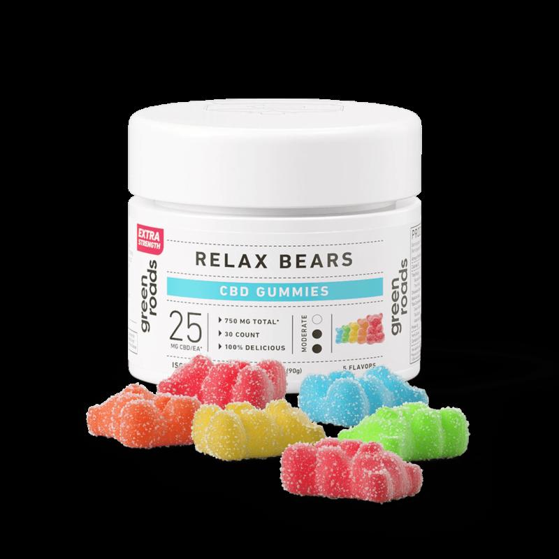Relax EX bottle gummies